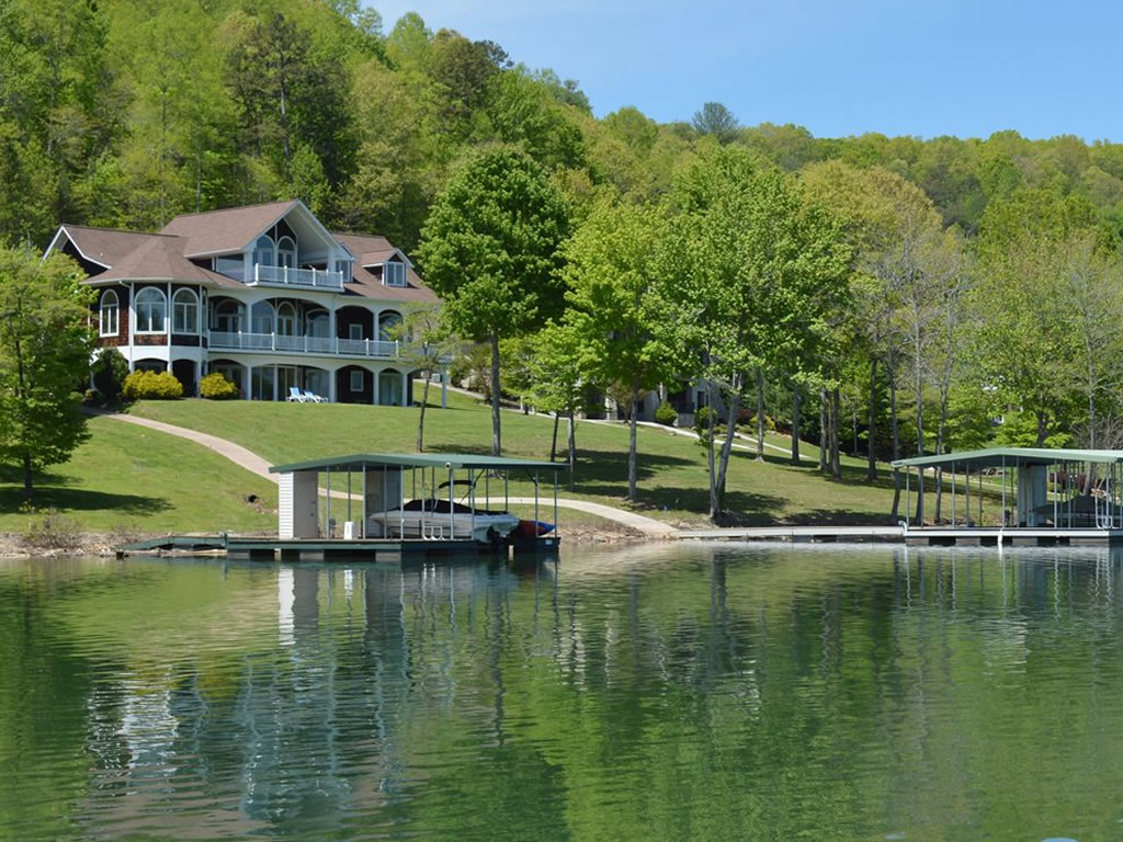 Norris lake homes for sale for Lake front homes